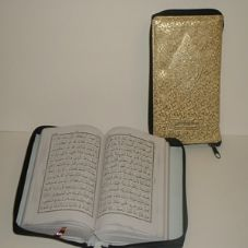 The Holy Quran A5 Size (Golden Zip Case # 23)